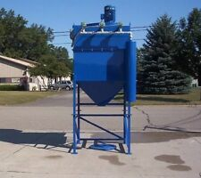 DUST COLLECTOR, 10 HP, 4900 CFM,  9 CARTRIDGE, REVERSE PULSE, VARIABLE FREQUENCY