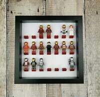 Minifigure Display Frame For LEGO Minifigures - 21 bricks / Many colours