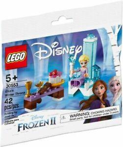 Lego Disney's Elsa's Winter Throne 30553 Polybag BNIP