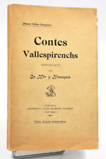 Vallespir, Catalogne - Estève Caseponce : CONTES VALLESPIRENCHS... Envoi