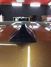 Nissan Navara Negro Funcional de aleta de tiburón antena (Compatible para AM/FM radio)