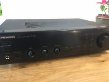 Pioneer A-203 Stereo Integrated Amplifier Black Hifi Component Amp