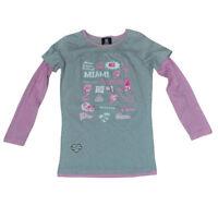 NFL Miami Dolphins Reebok Girls Jersey Tee DK3142 Long Sleeve Shirt