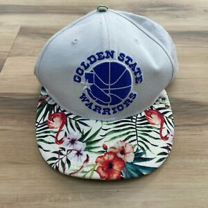 New Era Golden State Warriors NBA BASKETBALL Snapback Floral Hawaiian Hardwood