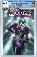 🤡 Joker: 80th Anniversary #1 🔥Crain Variant💥 CGC 9.8