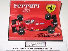 Ferrari 640 Winner Hungary 1989  Signed by Mansell  F1 1/43 NO spark/Minichamps