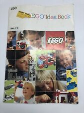 Vintage 1987 LEGO Idea Book 250 with COMPLETE STICKER BOOKLET