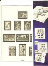 FEUILLES LINDNER POLYNESIE ANNEE 2002  N°. 112 A 114