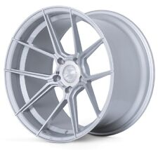 20x9 Ferrada Forge8 FR8 5x130 +45 Machine Silver Wheels (Set of 4)