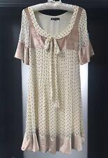 Marc Jacobs Polka Dot Silk Tea Dress Size 10 Eu 38