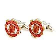 Manchester United Football Sports Cufflink Novelty Wedding Birthday Gift UK Manu