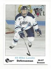 2006-07 Maine Black Bears Mike Lundin (Jokerit)