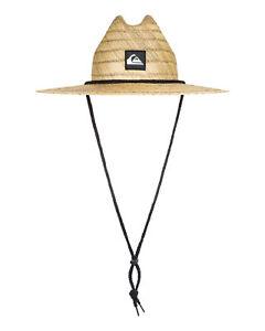 NEW QUIKSILVER™  Boys 2-7 Pierside Straw Lifeguard Hat Boys Teens