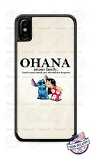 Ohana Means Family Lilo and Stitch Animated Phone Case Cover Fits iPhone Samsung