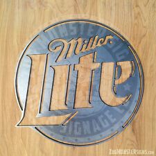 Miller Lite Metal Wall Art