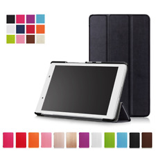 "Slim Smart Cover Case for Lenovo Tab 4 8"" TB-8504F Tablet Free Screen Protector"