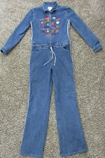 NBA Basketball All Stars BoomX Jeans Denim Space Jam Jumpsuit Coverall XL