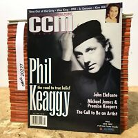 Phil Keaggy Wes King PFR CCM Contemporary Christian Music MAGAZINE July 1995