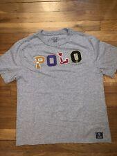 Polo Ralph Lauren T-Shirt - Boys size Large (14-16) Gray Shirt POLO