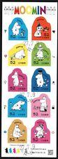 Japan 2017 52y Moomin Sheet of 10 Fine Used