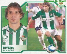 ALBERTO RIVERA ESPANA REAL BETIS STICKER LIGA ESTE 2008 PANINI