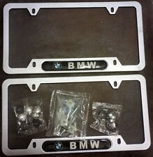 Metal License Plate Frames X2 For Bmw 2