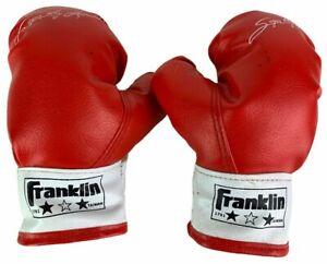 1980's Sugar Ray Leonard Kids Boxing Gloves Pair of Franklin Boxing Gloves #1791