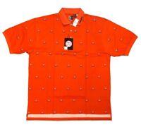 Chiliwear Men's UVA Virginia Cavaliers Allover NCAA Big and Tall Polo Shirt