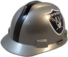 Las Vegas Raiders Msa V Gard Cap Style Nfl Hard Hat