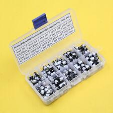 10value 200pcs SMD Aluminum Electrolytic Capacitors Assortment Box Kit (M Size)