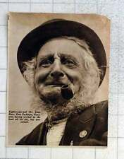 1939 80-year-old Mr John Burr, East Peckham Kent, Land Worker