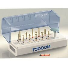 12PCs/Set Dental Anterior Posterior Preparation Kit for Ceramics Zirconia Crown