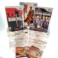 Huge Lot Bundle of 33 Nintendo Wii Video Games! Read Description for Cond. Notes