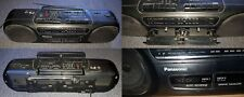 Vintage Panasonic radio RX-FT570 Cassette AM FM Radio player Boombox specker