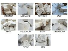 Set of samples natural Chalk chunks edible for eating, 10 species (Total 1 lb)