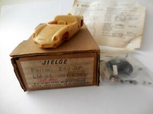 1/43; Ferrari 246 SP Le Mans 1961. Jielge resin kit.