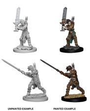 Human Female Barbarian - Wizkids Miniatures - Dungeons & Dragons - WZK73414