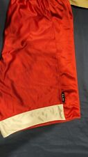 Used Nike Basketball Shorts. Reversible. Size Xl? Red White Drawstring Tie.
