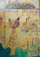 Weezer Fillmore Poster Superdrag Original Bill Graham F245 Joel Elrod