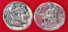 Ancient Greek Coin , 10 Drachmas , Alexander The Great Macedonian