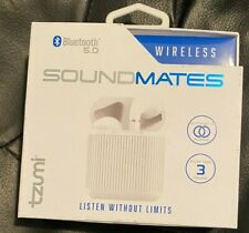TZUMI SOUNDMATES WIRELESS STEREO EARBUDS BLUETOOTH 5.0 - NEW IN BOX