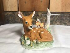 Vintage Homco Deer Fawn Figurine #8879