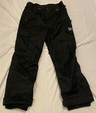 Burton DryRide Boys Black Insulated Ski/Snow Winter Pants Size XL