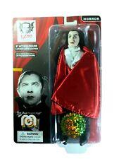 "Mego Retro Bela Lugosi Dracula 8""  Figure Red Cape Limited Edition # 1227"
