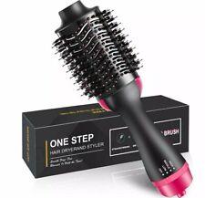 NEW 3in1 One Step Hair Dryer Styler Comb And Volumizer Brush Straightener Curler