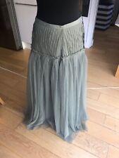 Noa Noa Sage Green Long Tulle Skirt BNWT Size Medium