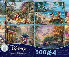 THOMAS KINKADE DISNEY DREAMS COLLECTION MULTI-PACK 4 IN 1 PUZZLE 500 PCS #3672-1