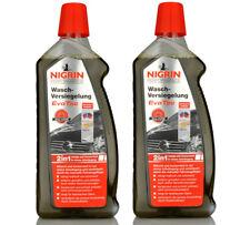 Nigrin® 5,25€/L Wasch-Versiegelung EvoTec 2000ml 73876 2in1 Auto Waschen 2 Stück