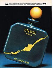 PUBLICITE ADVERTISING 014   1981    TED LAPIDUS   parfum  ENVOL