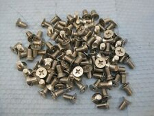 "6092 Lot(100) Stainless Machine Head Bolt 1/4-28 x 1/2"" FREE shipping USA"